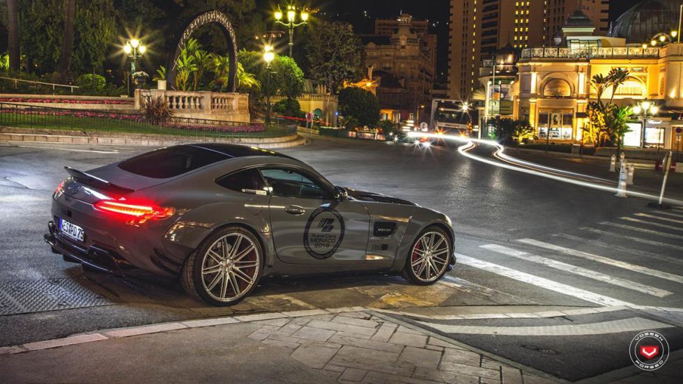 Mercedes-AMG GT preparado por Prior Design trasera