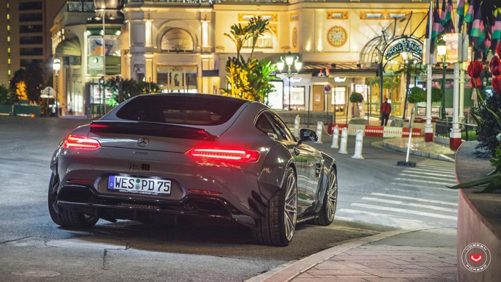 Mercedes-AMG GT preparado por Prior Design culo