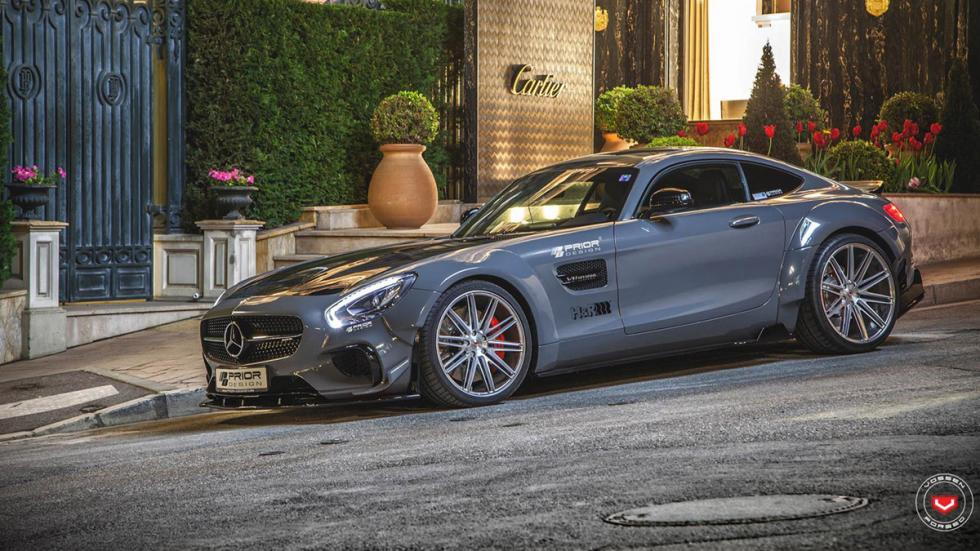 Mercedes-AMG GT preparado por Prior Design lateral