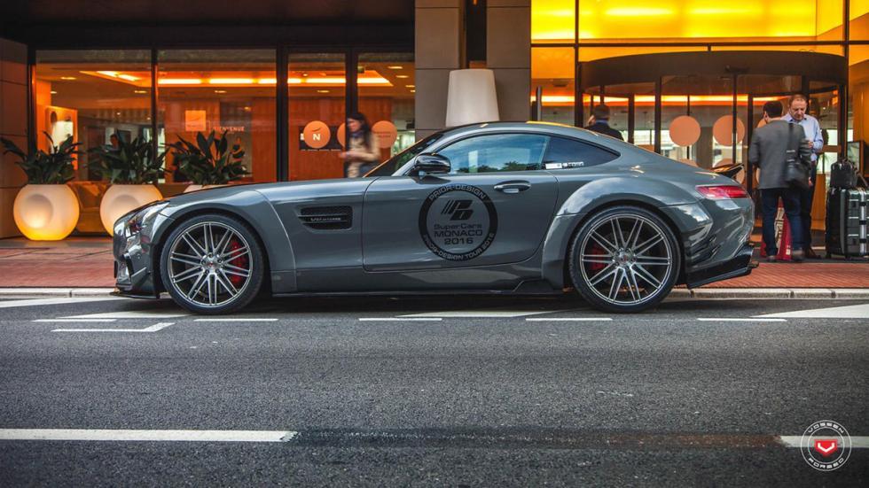 Mercedes-AMG GT preparado por Prior Design perfil