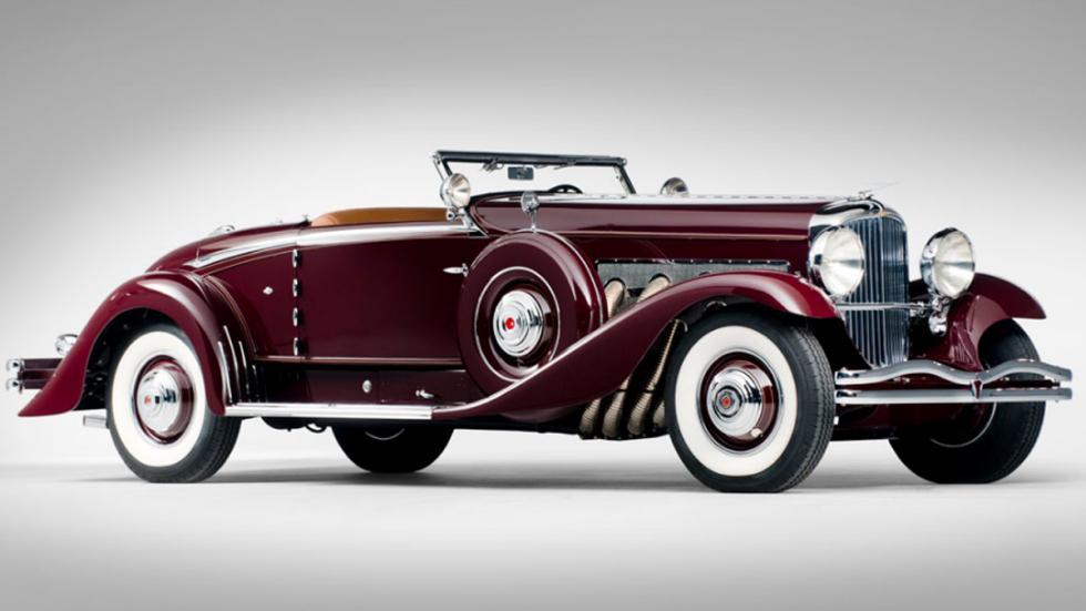 coches americanos más caros Duesenberg Model SJ Coupé descapotable de 1935