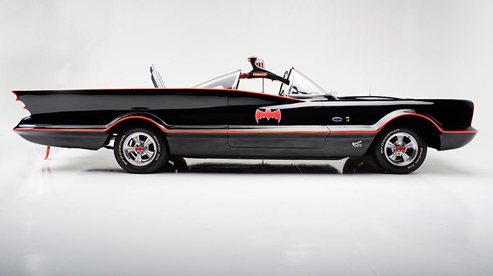 coches americanos más caros Batmóvil 1 de 1966