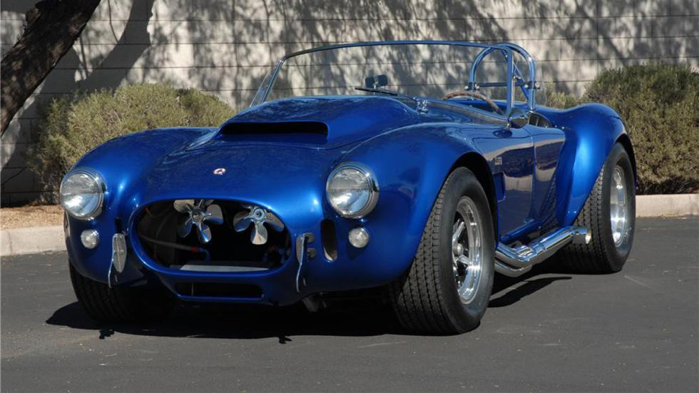 coches americanos más caros Shelby Cobra 427 Super Snake de 1966