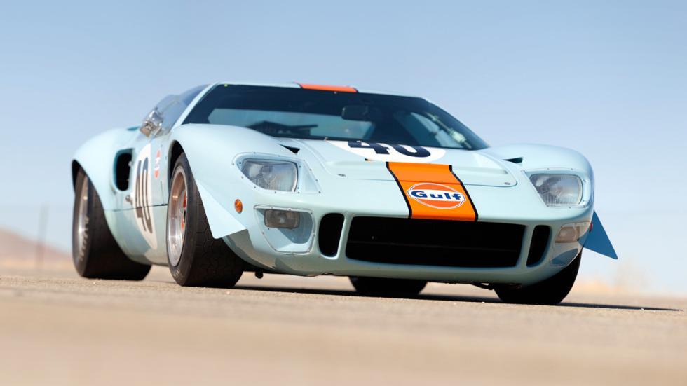 coches americanos más carosFord GT40 Gulf /Mirage Lightweight Racing Car de 1968