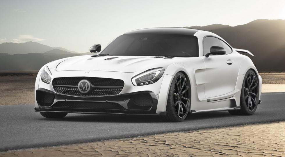 Mercedes-AMG GT preparado Mansory delantera