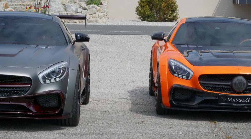 Mercedes-AMG GT preparado Mansory morro