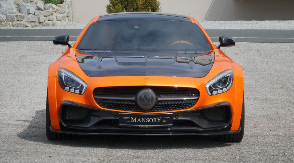 Mercedes-AMG GT preparado Mansory frontal