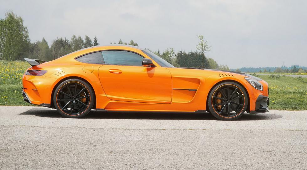 Mercedes-AMG GT preparado Mansory lateral