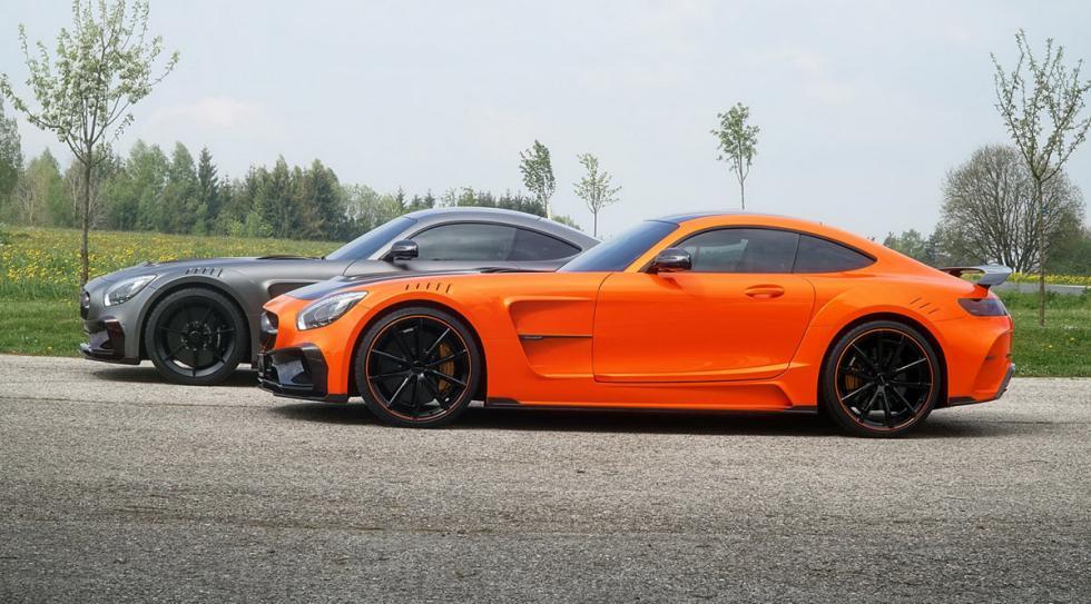 Mercedes-AMG GT preparado Mansory perfil