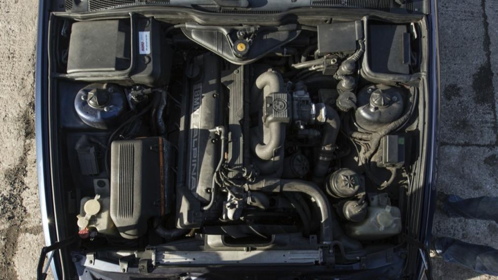 Alpina B10 Biturbo motor