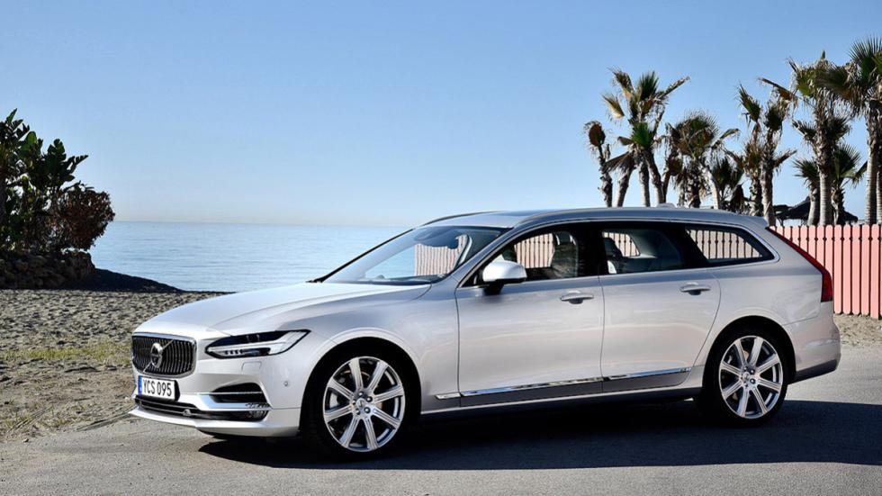 Prueba: Volvo V90 2016 lateral estática