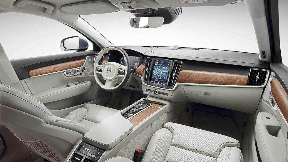Prueba: Volvo V90 2016 interior
