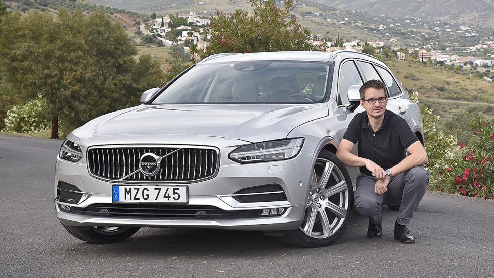 Prueba: Volvo V90 2016 redactor
