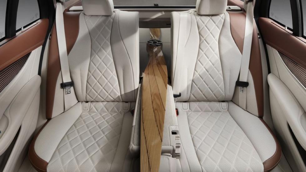 Mercedes Clase E Estate 2017 configuración asientos