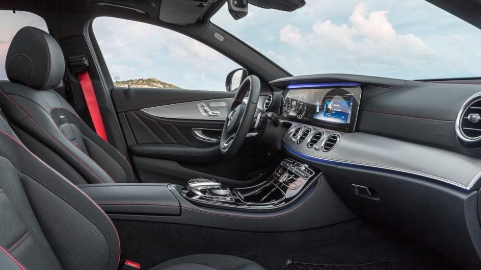 Mercedes Clase E AMG_interior