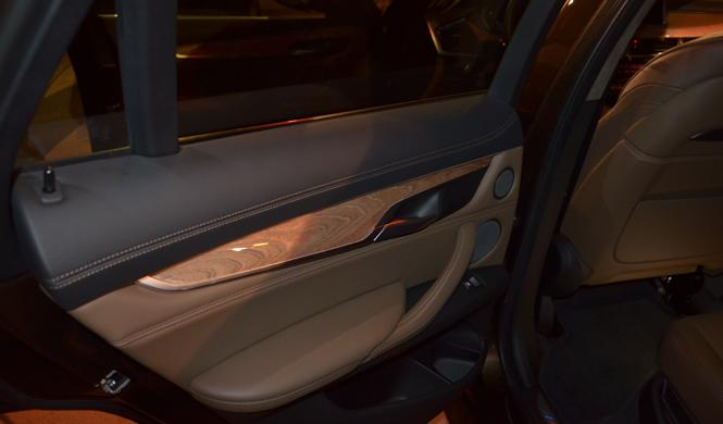 bmw individual panel madera