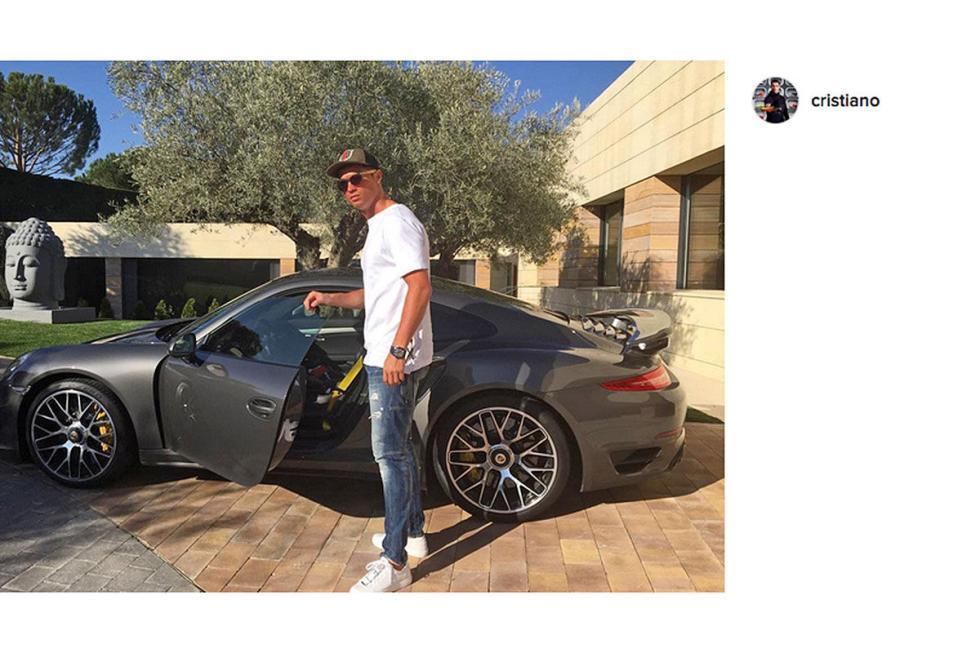 Cristiano Ronaldo: Porsche 911 Turbo S