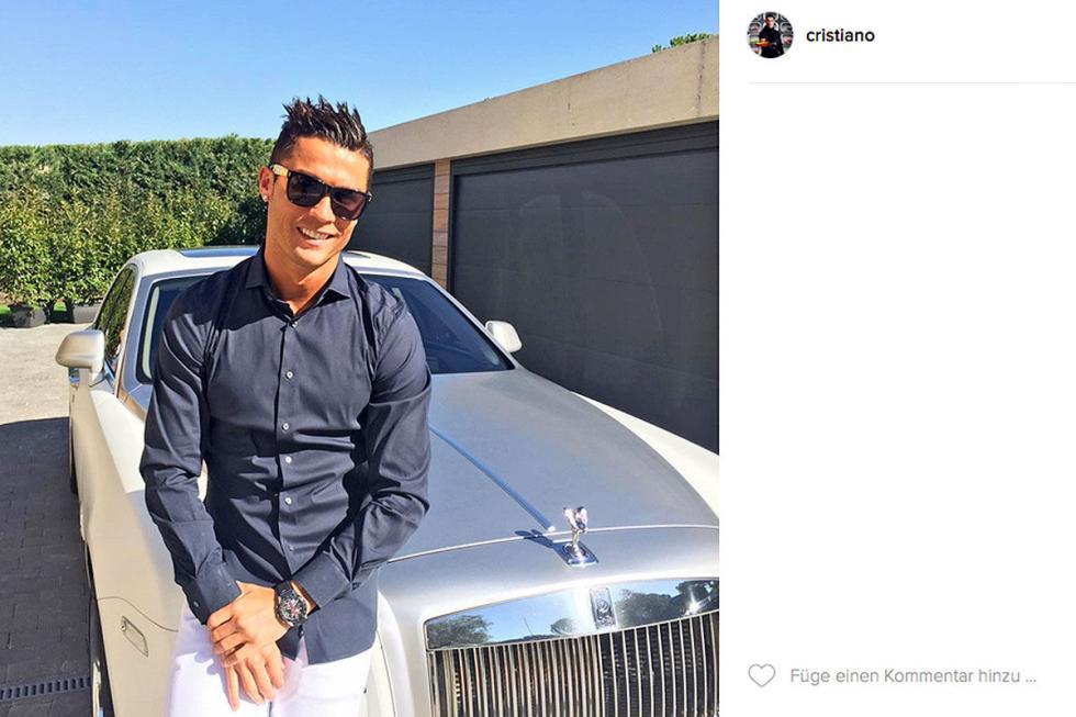 Cristiano Ronaldo: Rolls-Royce Wraith