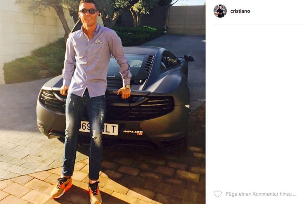 Cristiano Ronaldo: McLaren MP4-12C High Sport