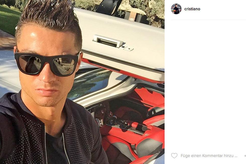 Cristiano Ronaldo: Mercedes-Benz SLS AMG