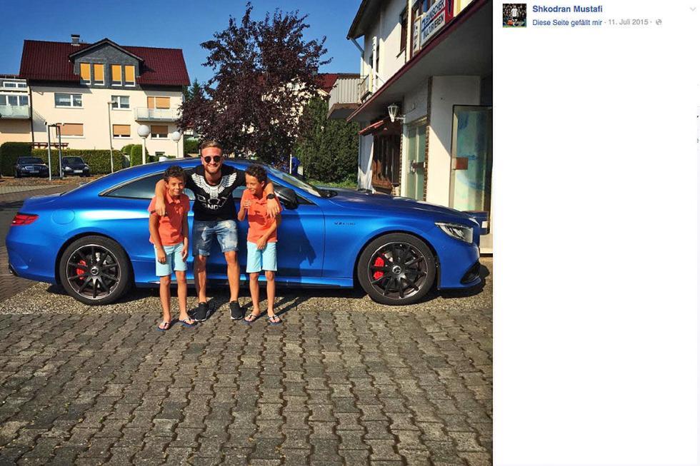 Cristiano Ronaldo: Mercedes-AMG S 63 Coupé