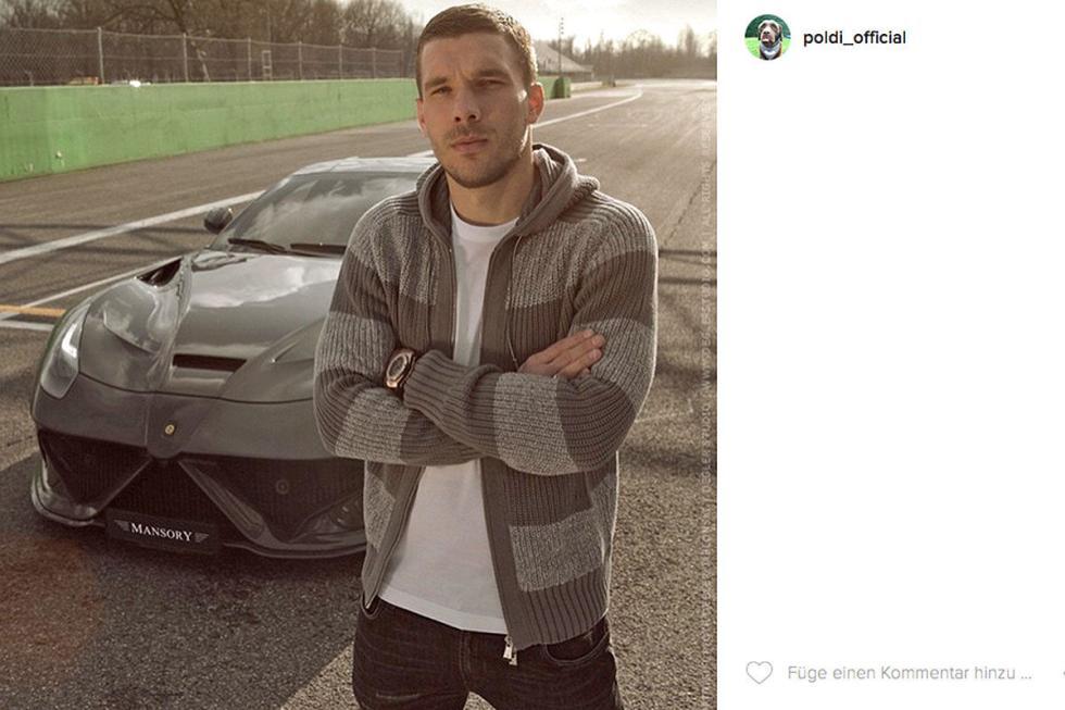 Lukas Podolski: Mansory Stallone