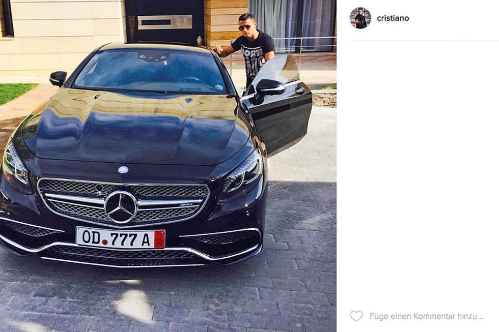 Cristiano Ronaldo: Mercedes-AMG S 65 Coupé