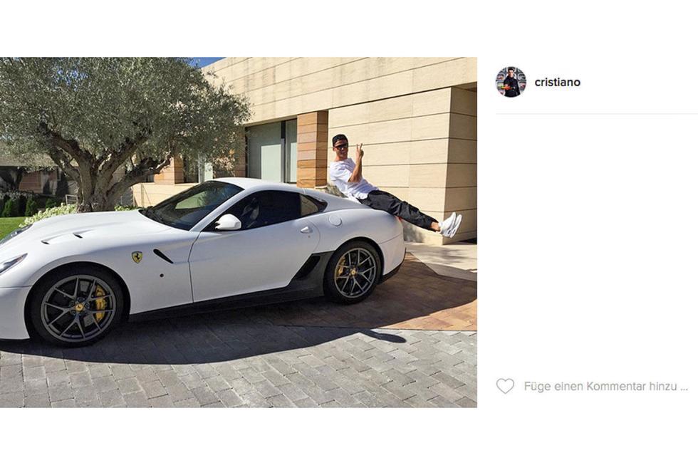 Cristiano Ronaldo: Ferrari 599 GTO