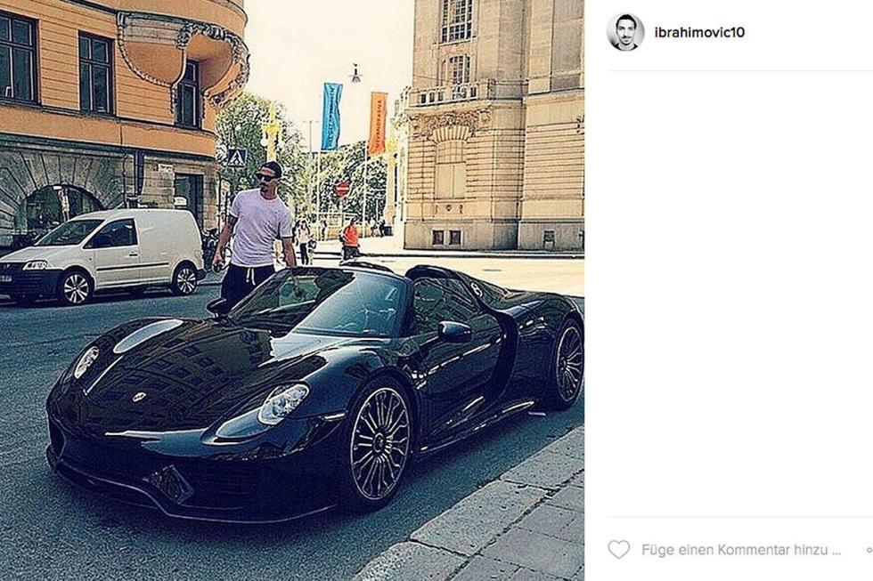 Zlatan Ibrahimović: Porsche 918 Spyder