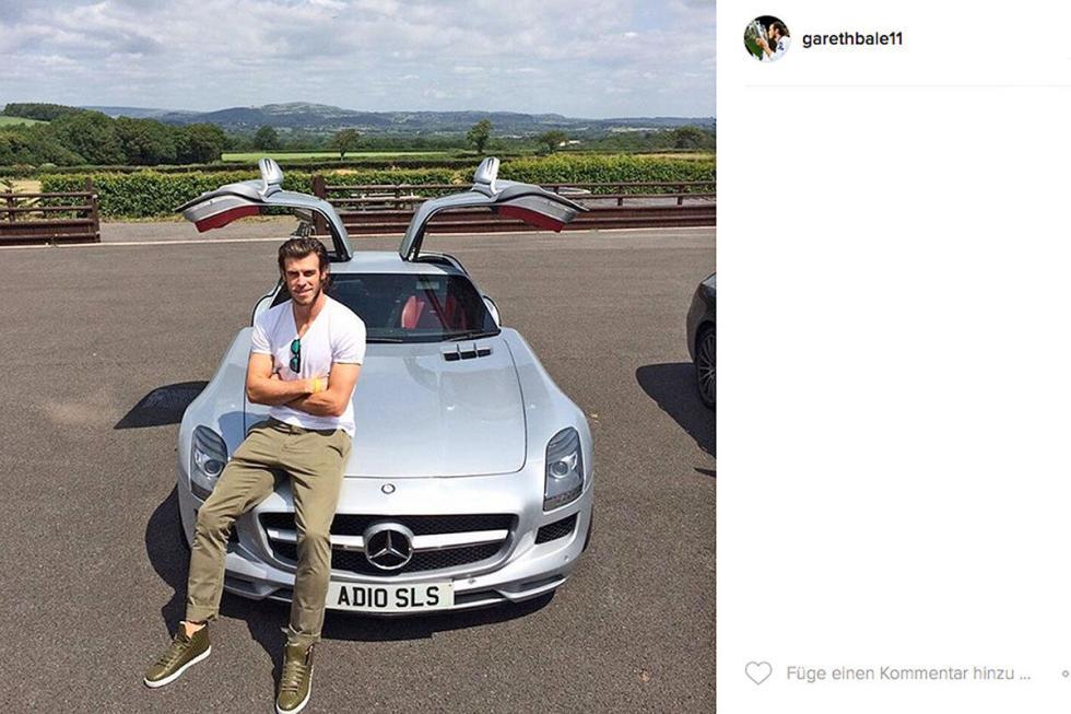 Gareth Bale: Mercedes SLS AMG