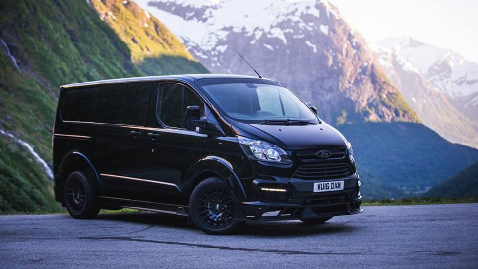 Ford Transit Ken Block Edition frontal