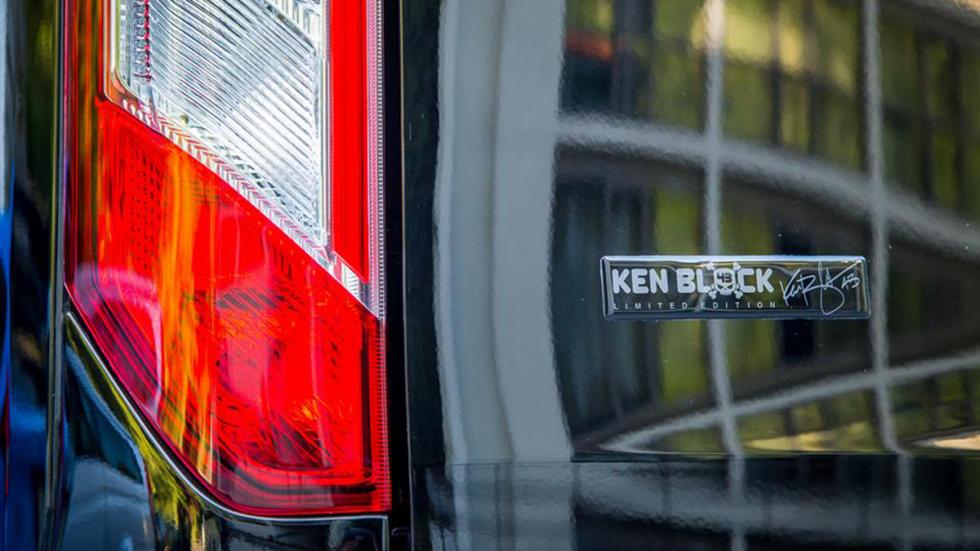 Ford Transit Ken Block Edition logo