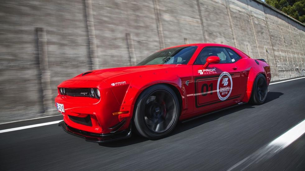 Dodge Challenger Hellcat by Prior Design dinamica