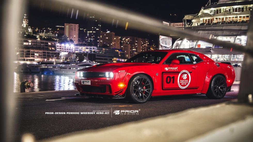 Dodge Challenger Hellcat by Prior Design nocturna