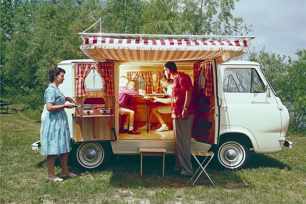 Ford Falcon Custom Van: la respuesta americana al reinado de las Volkswagen T.