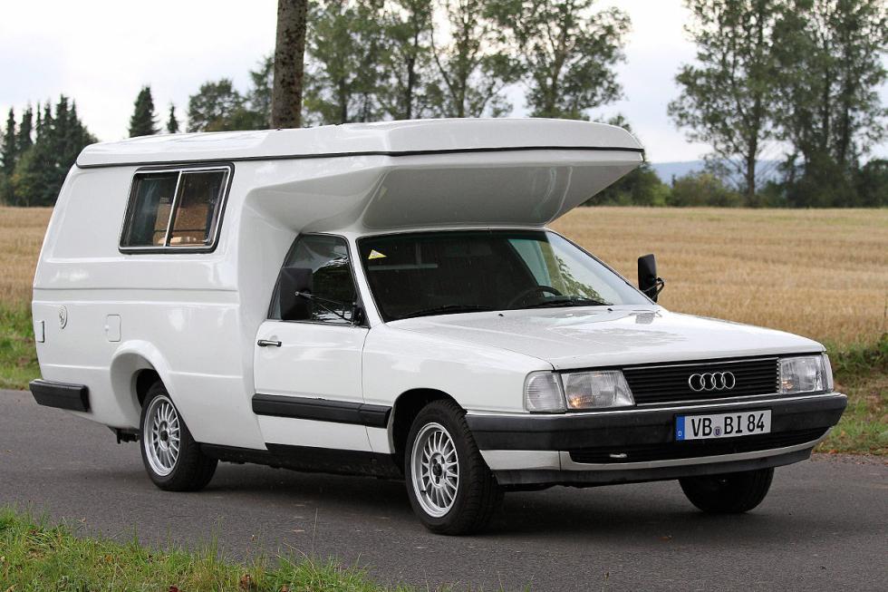 Audi 100 Bischofberger: una idea similar a la anterior, específica para el Audi