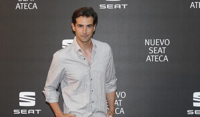 famosos presentacion seat ateca madrid alex adrover
