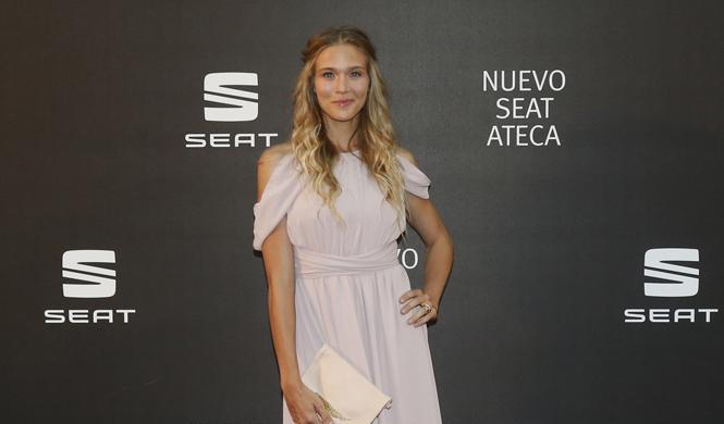 famosos presentacion seat ateca madrid patricia montero