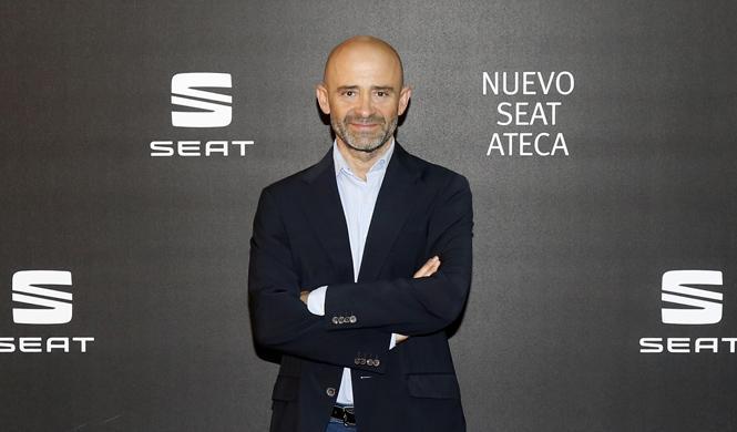 famosos presentacion seat ateca madrid antonio lobato