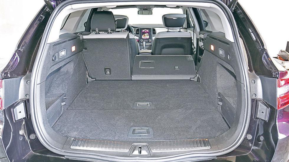Renault Talisman Sport Tourer interior detalle maletero