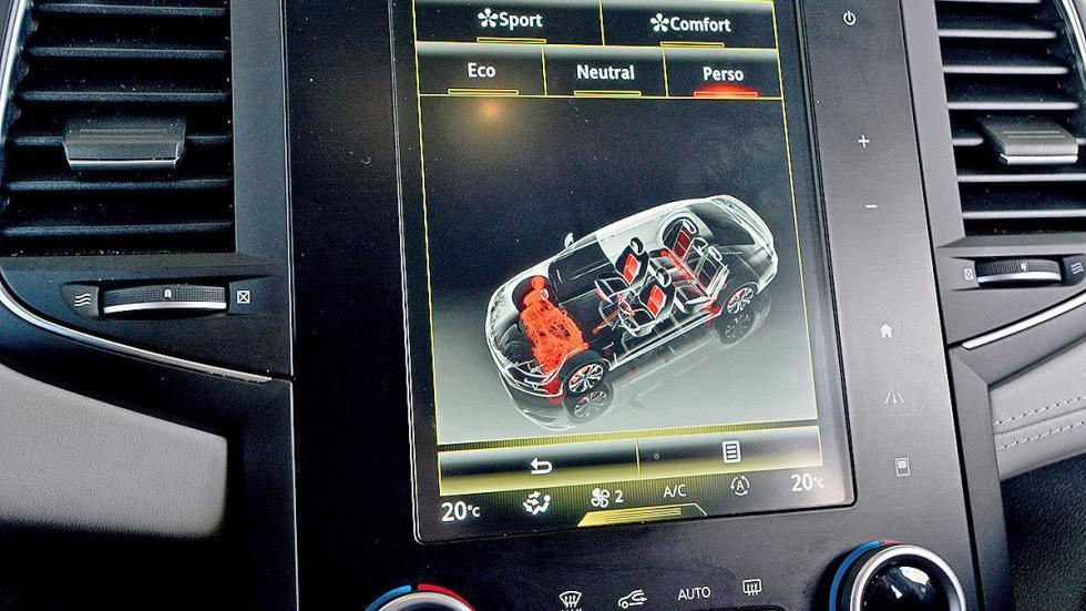 Renault Talisman Sport Tourer interior detalle