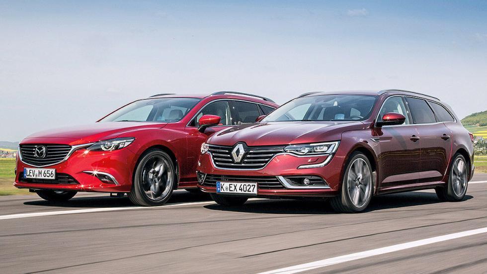 Cara a cara: Mazda 6 Wagon vs Renault Talisman Sport Tourer