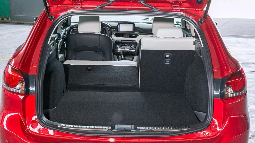 Mazda 6 Wagon traseras zaga maletero