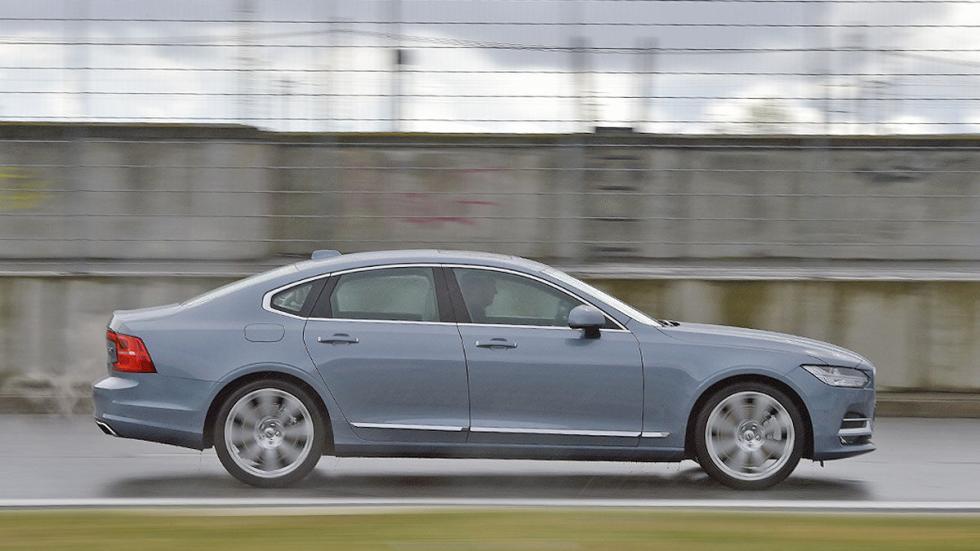 5 Comparativa: Volvo S90/Jaguar XJ/Maserati Quattroporte