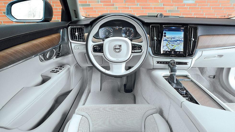 6 Comparativa: Volvo S90/Jaguar XJ/Maserati Quattroporte
