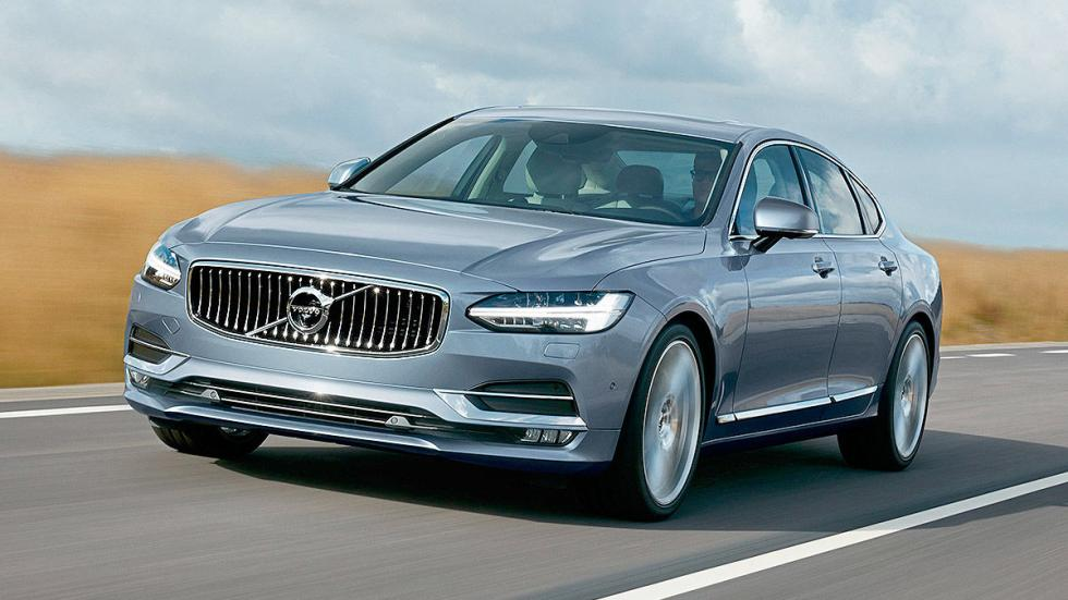 7 Comparativa: Volvo S90/Jaguar XJ/Maserati Quattroporte