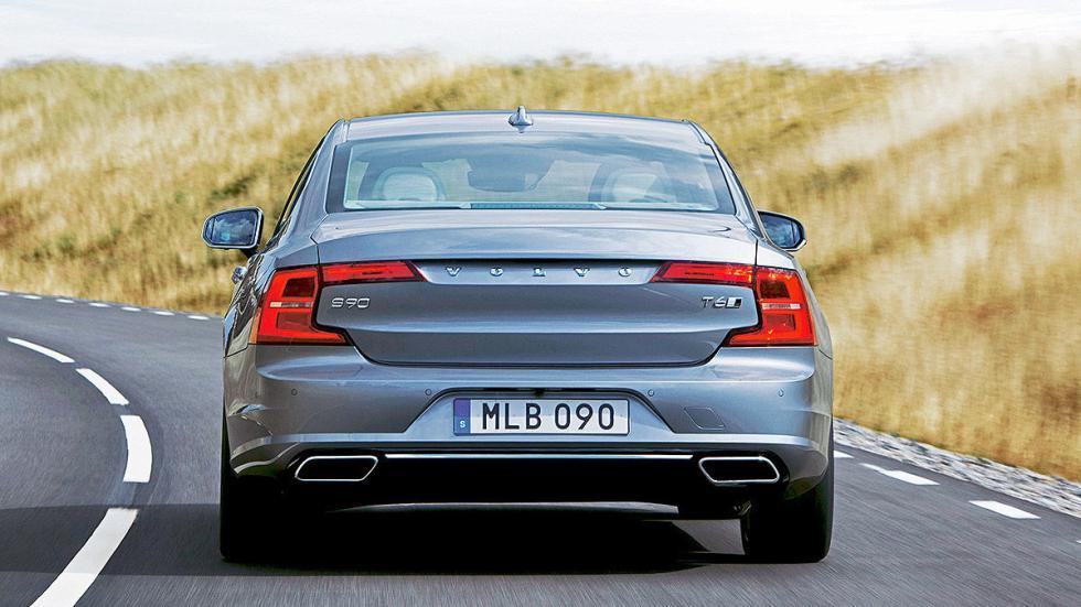 8 Comparativa: Volvo S90/Jaguar XJ/Maserati Quattroporte