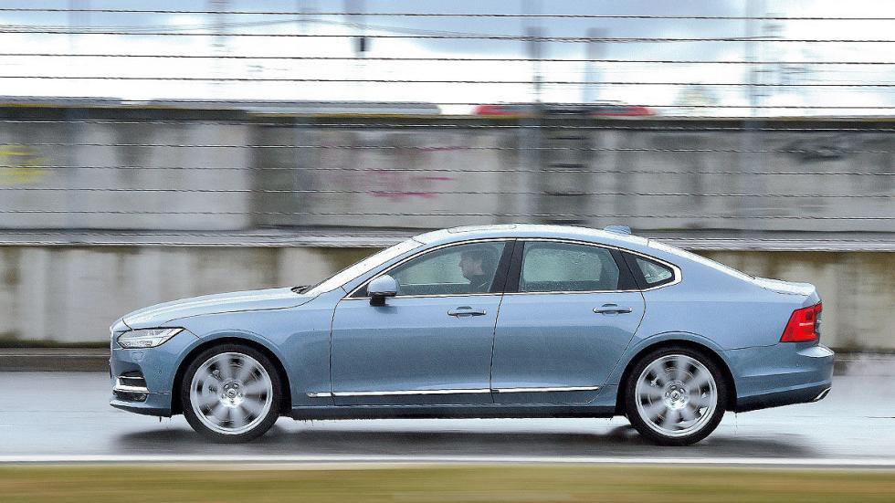 11 Comparativa: Volvo S90/Jaguar XJ/Maserati Quattroporte