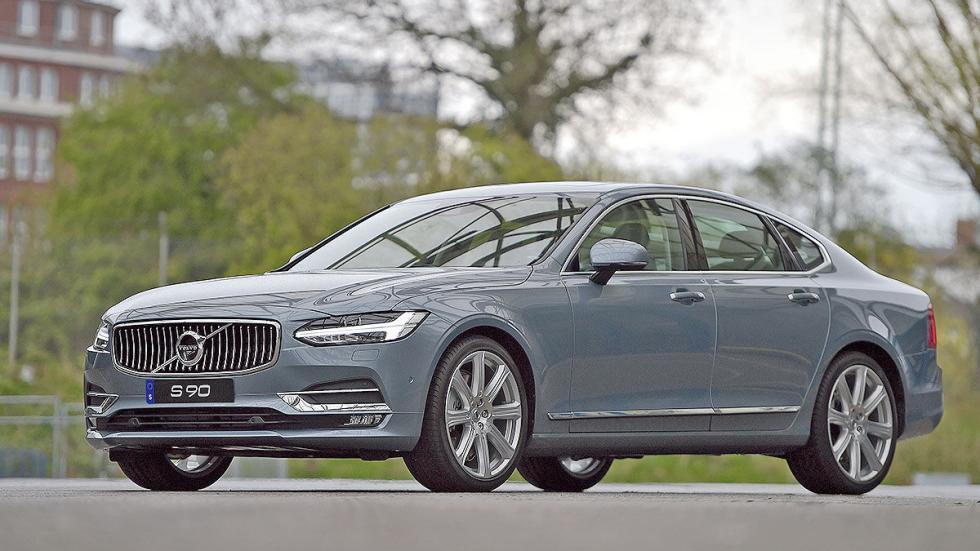 12 Comparativa: Volvo S90/Jaguar XJ/Maserati Quattroporte