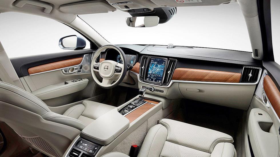 13 Comparativa: Volvo S90/Jaguar XJ/Maserati Quattroporte